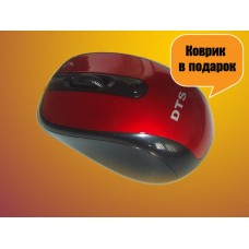 Мышка DTS-M825, 1200dpi, USB port, Bliste Red