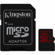 Карта памяти Kingston 32GB microSDHC Class 10 UHS-I U3 (SDCA3/32GB)